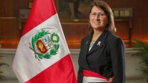 Pilar Mazzetti, ministra de Salud de Perú