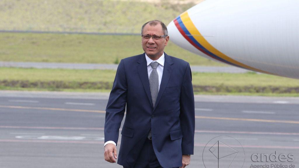 El exvicepresidente de Ecuador, Jorge Glas