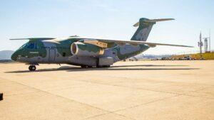 Avión de la Fuerza Aérea Brasileña