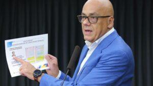 El vicepresidente de Comunicación, Cultura y Turismo de Venezuela, Jorge Rodríguez