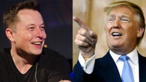Elon Musk y Donald Trump