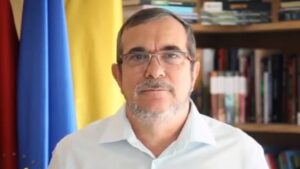 Rodrigoño Londoño, alias 'Timochenko', secretario general del partido Comunes
