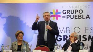 Imagen de archivo de un encuentro del Grupo de Puebla