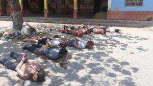 Detenidos durante la 'Operación Gedeón'