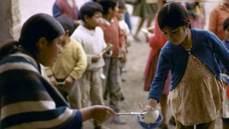Comunidad indígena en Ecuador