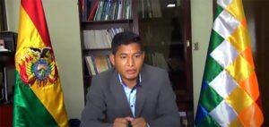 El exministro de Desarrollo Rural Edwin Characayo