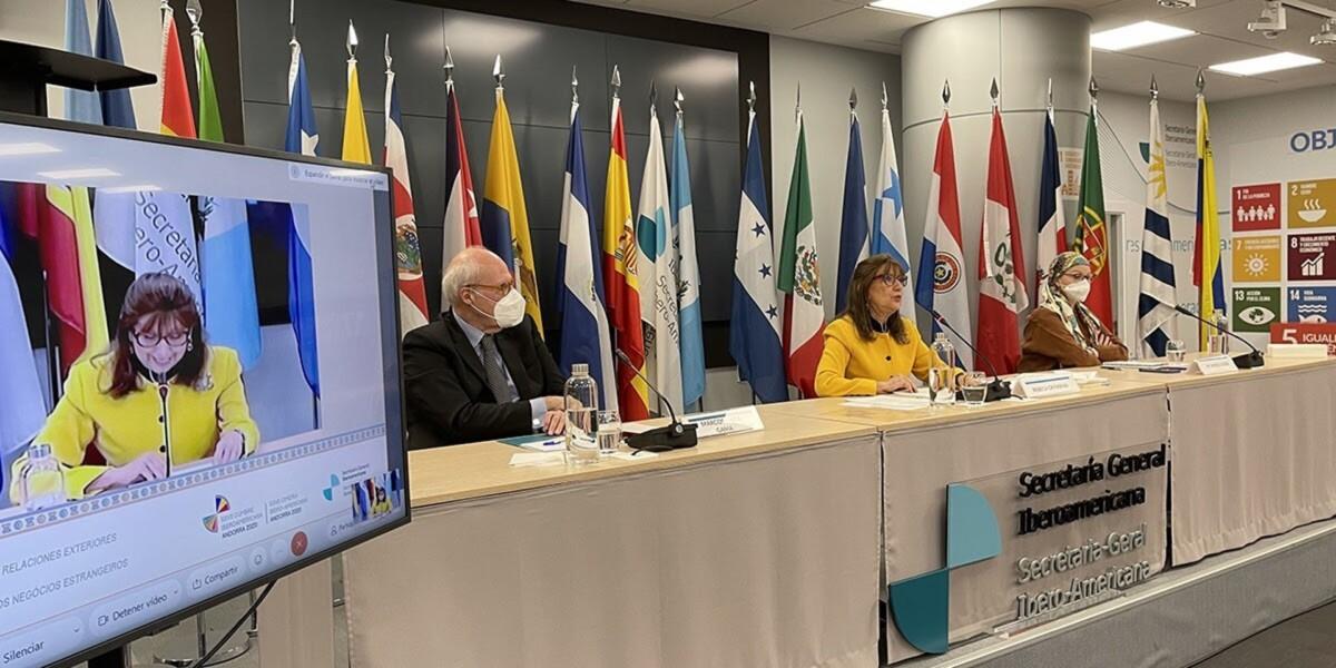 Reunión previa a la XXVII Cumbre Iberoamericana que se celebrará en Andorra el próximo 21 de abril - SECRETARÍA GENERAL IBEROAMERICANA