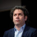 El director venezolano, Gustavo Dudamel
