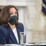 La vicepresidenta de Estados Unidos, Kamala Harris. - SHAWN THEW - POOL VIA CNP / ZUMA PRESS