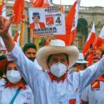 Pedro Castillo, Candidato a la presidencia de Perú, suspende la campaña por problemas respiratorios