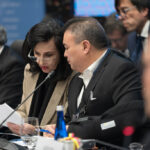 La ministra de Exteriores de Colombia, Claudia Blum