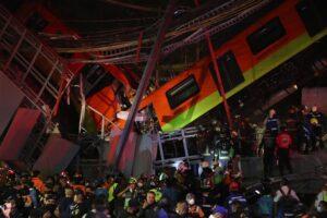 Derrumbe en el Metro de Ciudad de México - Foto: Valente Rosas / El Universal Via Z / DPA