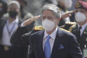 El presidente de Ecuador, Guillermo Lasso - FRANKLIN JACOME