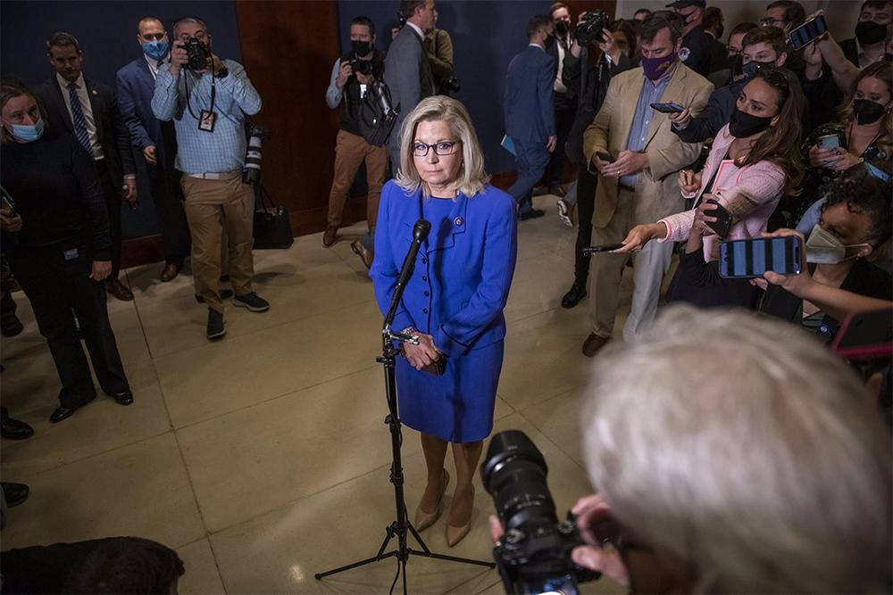 La representante republicana por Wyoming, Liz Cheney - ROD LAMKEY - CNP / ZUMA PRESS / CONTACTOPHOTO