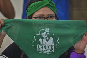 Manifestación por la despenalización del aborto en El Salvador - CAMILO FREEDMAN / ZUMA PRESS / CONTACTOPHOTO