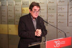 El director del Instituto Cervantes, Luis García Montero - Ricardo Rubio - Europa Press