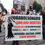 Convocan protestas para pedir la salida del poder de Bolsonaro y exigir el fin de la brutalidad policial