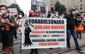 Imagen de archivo de las protestas contra Bolsonaro del pasado 19 de junio. - Jose Lucena/TheNEWS2 via ZUMA Wi / DPA