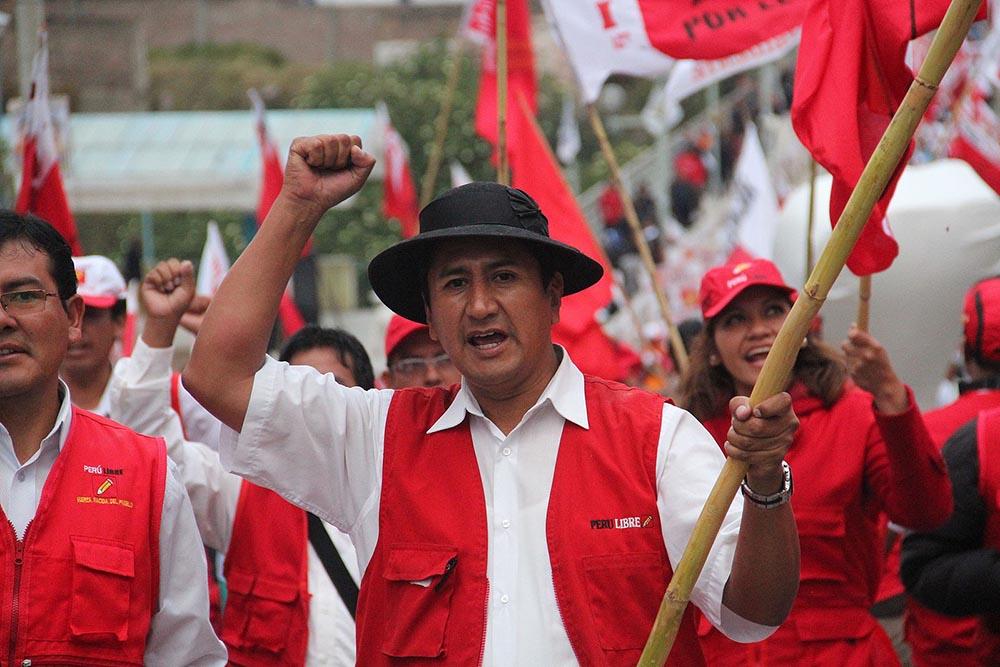El fundador y secretario general de Perú Libre, Vladimir Cerrón