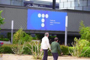 Edificio de la sede de Telefónica - Jesús Hellín - Europa Press