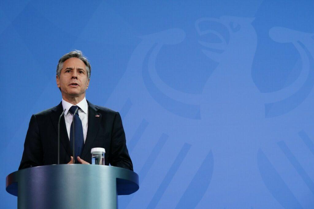 El secretario de Estado estadounidense, Antony Blinken. - Clemens Bilan/EPA Pool/dpa