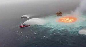 oleoducto submarino en el golfo de México