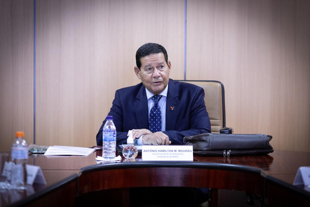 El vicepresidente brasileño Antônio Hamilton Mourão