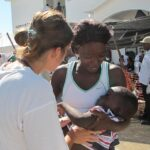 Imagen de archivo de trabajadores de Médicos Sin Fronteras en Haití. - MÉDICOS SIN FRONTERAS