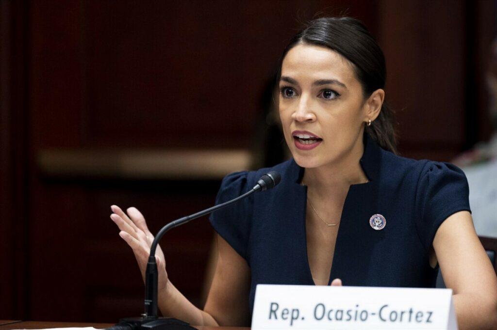La representante demócrata Alexandria Ocasio-Cortez. - MICHAEL BROCHSTEIN / ZUMA PRESS / CONTACTOPHOTO