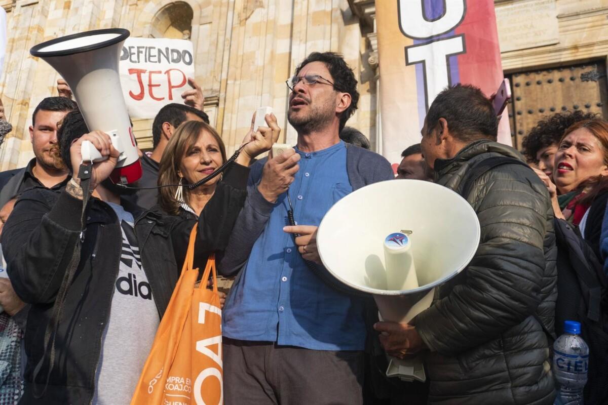 El senador del Polo Democrático Iván Cepeda. - DANIEL GARZON HERAZO / ZUMA PRESS / CONTACTO