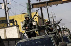 Patrulla militar en México - DANIEL BECERRIL
