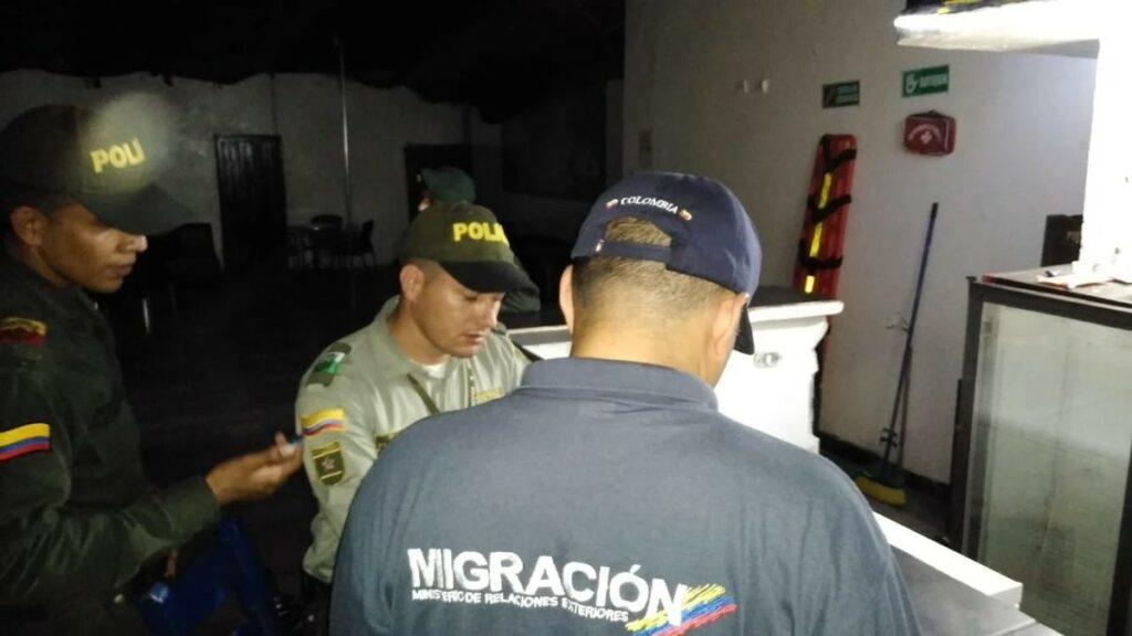 Agentes de Migración Colombia
