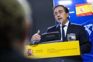 El Ministro de Asuntos Exteriores, Unión Europea y Cooperación, José Manuel Albares - Alejandro Martínez Vélez - Europa Press