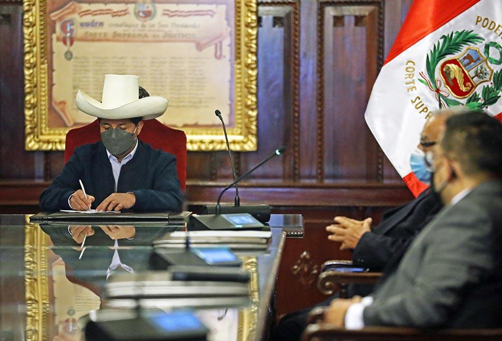 El presidente de Perú, Pedro Castillo. - Jose Luis Cristobal/Presidencia / DPA