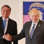 """Bolsonaro asegura que Johnson solicitó un acuerdo """"de emergencia"""" en materia alimentaria con Brasil"""
