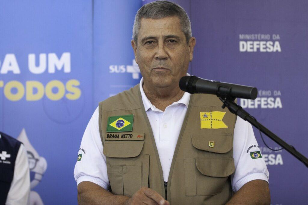 El ministro de Defensa de Brasil, Walter Braga Netto. - LECO VIANA / ZUMA PRESS / CONTACTOPHOTO