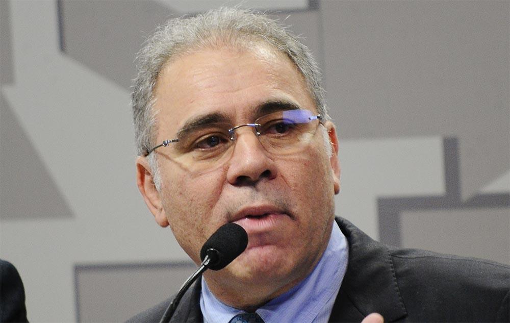 El ministro de salud de Brasil, Marcelo Queiroga