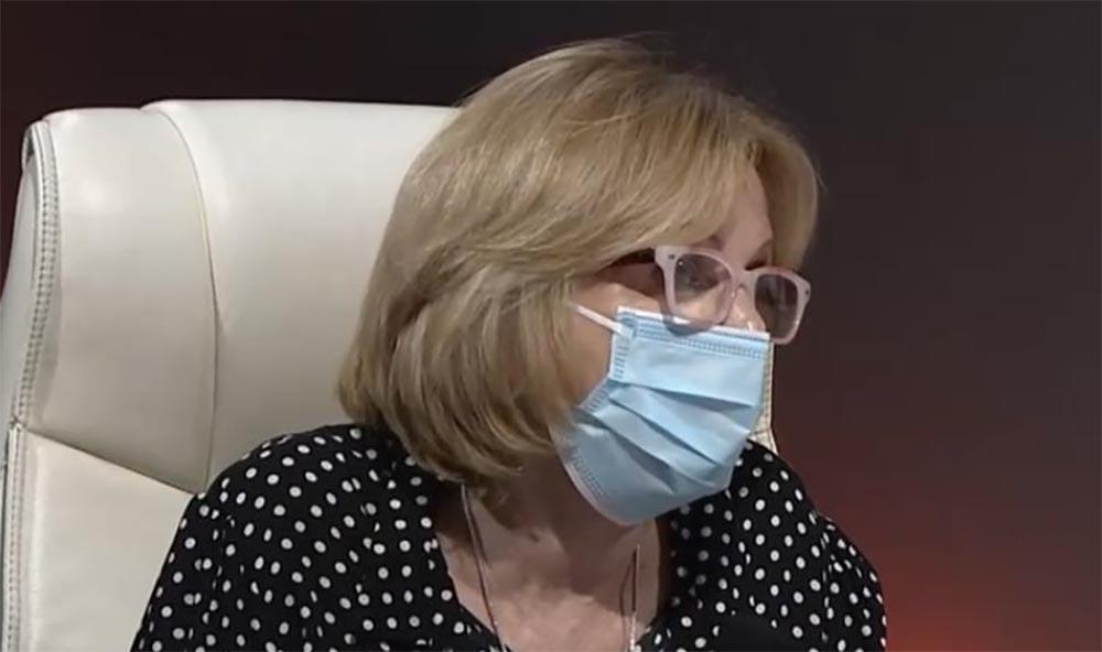 La especialista cubana en enfermedades infecciosas María Guadalupe Guzmán
