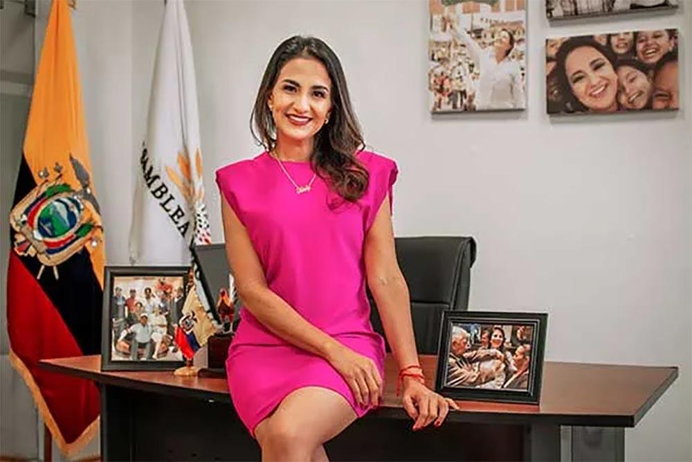 La ministra de Agricultura y Ganadería de Ecuador, Tanlly Vera