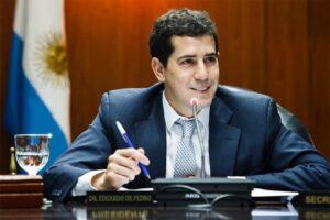 El ministro de Interior de Argentina, Wado de Pedro
