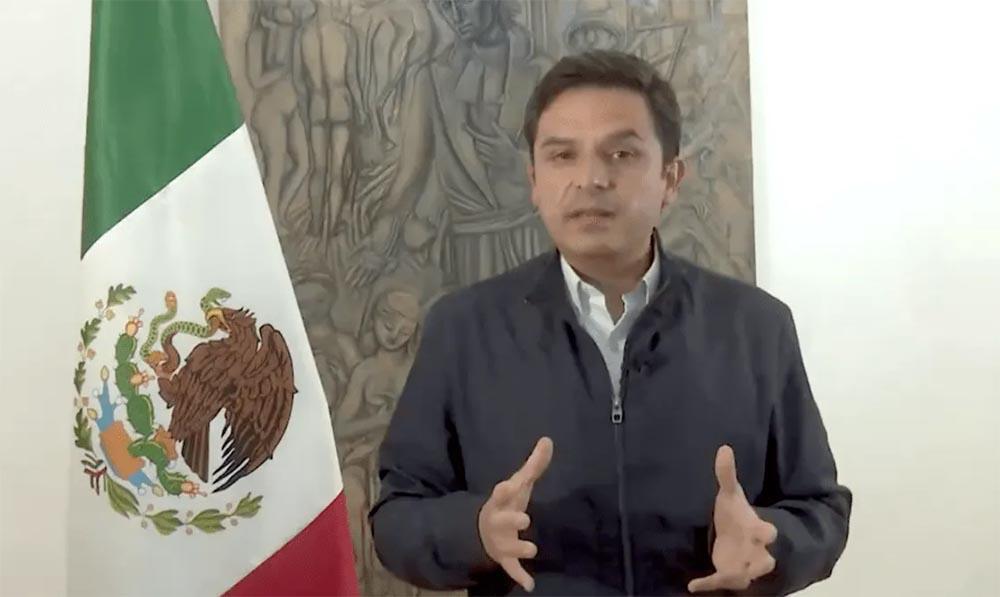 El director general del Instituto Mexicano del Seguro Social (IMSS), Zoé Robledo