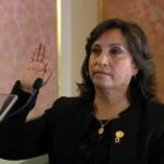 La vicepresidenta de Perú, Dina Boluarte, niega su implicación en lavado de activos
