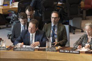 El representante de Naciones Unidas en Colombia y jefe de la Misión de Verificación de la ONU en el país, Carlos Ruiz Massieu - Mark Garten/United Nations /dpa