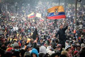 Protesta del paro nacional de Ecuador en octubre de 2019. - Juan Diego Montenegro/dpa - Archivo