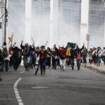 Al menos 18 detenidos el primer día de protestas por la subida de los precios de combustible en Ecuador