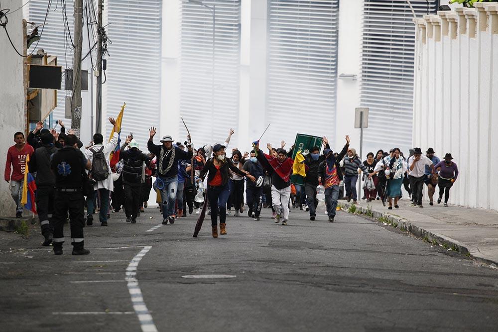 Protestas en Ecuador (imagen de archivo). - Juan Diego Montenegro/dpa