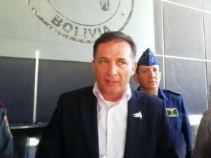 El exministro de Defensa de Bolivia, Luis Fernando López. - ABI