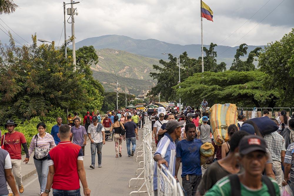 Imagen de archivo de migrantes venezolanos en la frontera con Colombia, en Cúcuta - MARTHA ASENCIO RHINE / ZUMA PRESS / CONTACTOPHOTO