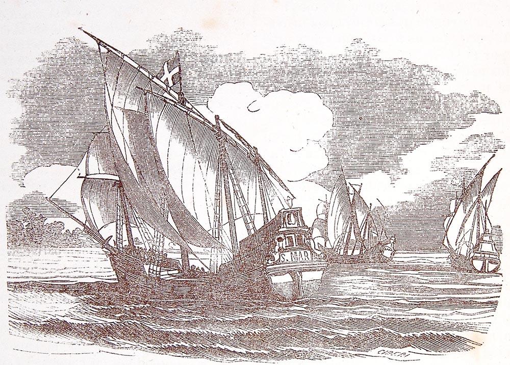 Viaje de Cristóbal Colón